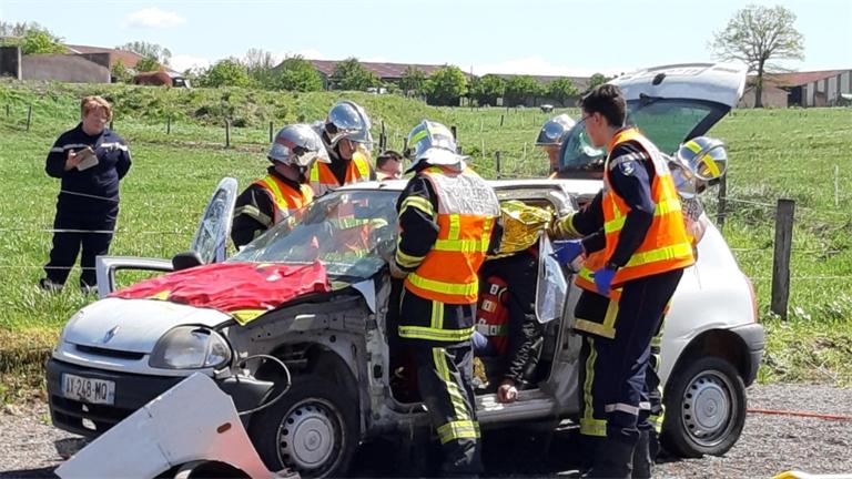 Les sapeurs-pompiers volontaires de Madon ont montré l'envers du décor