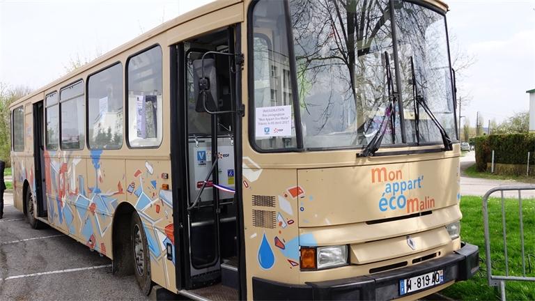 Un appart'éco malin dans un bus