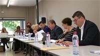 Raon l'Etape : séance de travail fructueuse pour les maires du canton