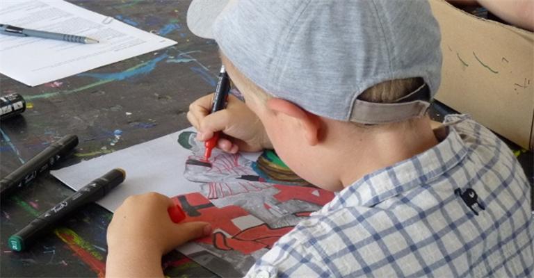 Des ateliers artistiques pour des vacances ludiques et culturelles