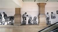 Levalet: un artiste maître de l'Art en gares