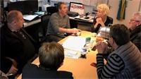 Canton de Darney: visites d'entreprises pour les Conseillers Départementaux