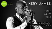 Le rappeur Kery James à La Rotonde de Thaon le 24 septembre