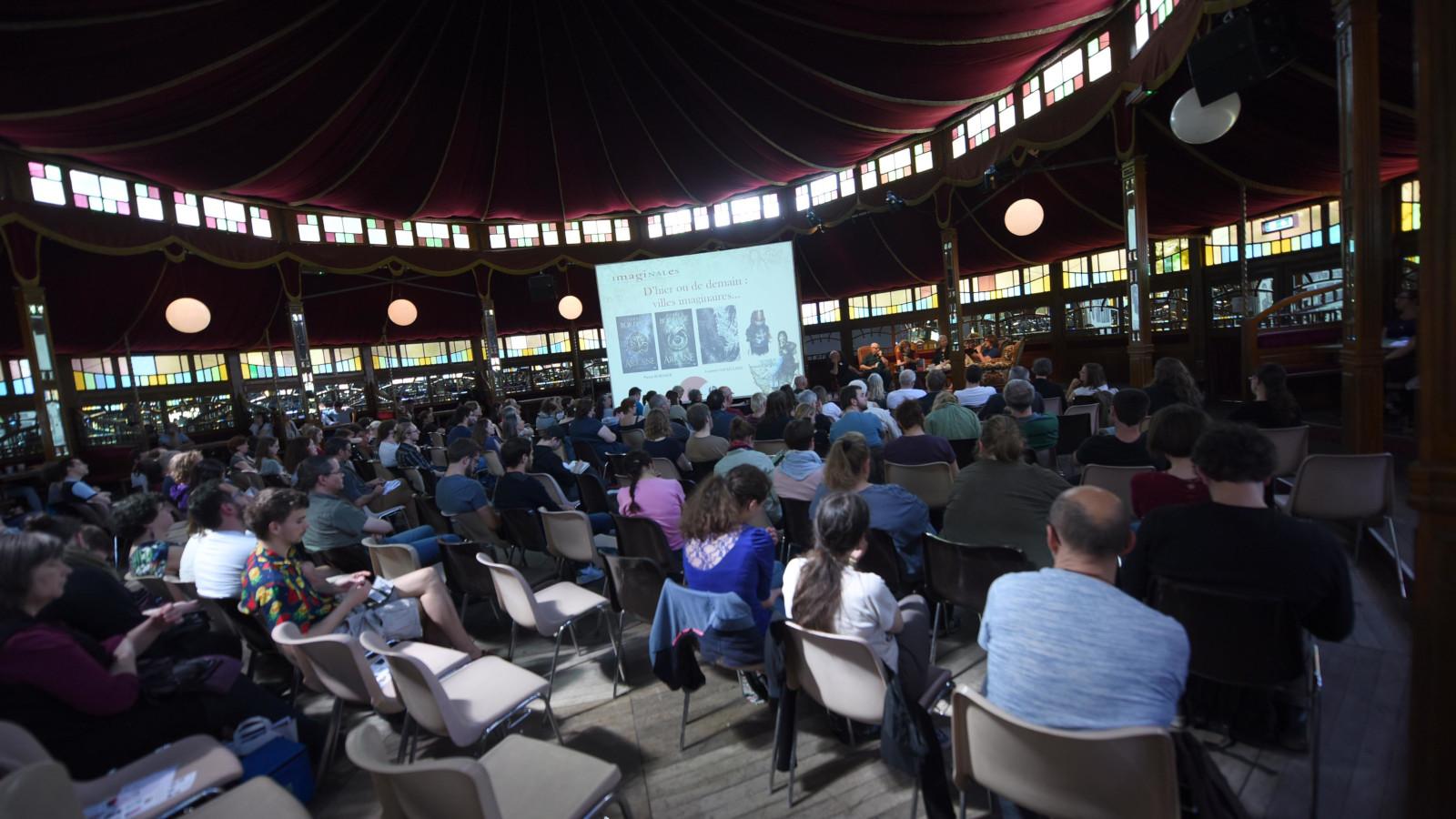 Plusieurs conférences autour du thème de l'imaginaire ont été organisées.