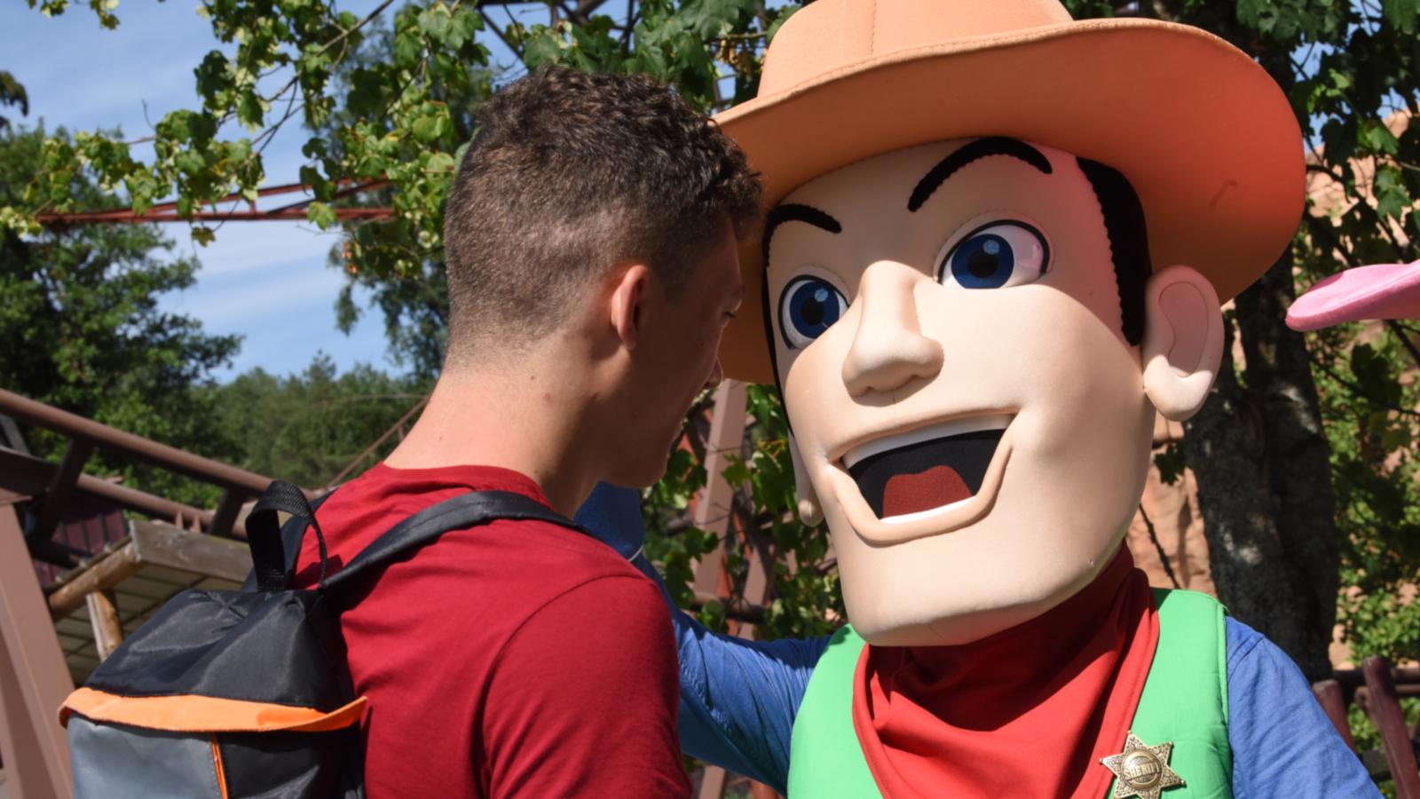 La mascotte du parc, Billy, a été créé en 1987.