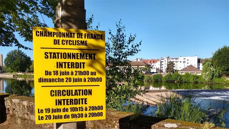 Les infos pratiques des championnats de France de cyclisme sur route