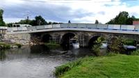 Vaxoncourt : état d'avancement des travaux de réparation du pont