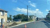 RD46 : le chantier de Vomécourt en bonne voie
