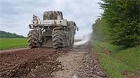 Travaux sur la RD 25 entre Senaide et Ainvelle: Un chantier optimisé et plus«vertueux»