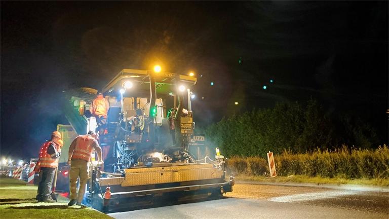 RD 46 : des travaux pour fluidifier le trafic