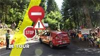 Tour de France: les conditions de circulation