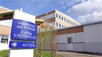 Collège Vautrin-Lud : Les travaux de couverture démarrent