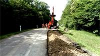 Travaux routiers sur les RD 460 A et RD 1 (secteur de Lamarche)