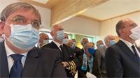 Le 1er Ministre Jean Castex en visite dans les Vosges