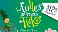 Les Folles Journées du vélo à Epinal