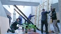 450 kilos d'Histoire en partance pour Saint-Romain-en-Gal