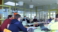 Collège de Vagney: Première réunion de chantier