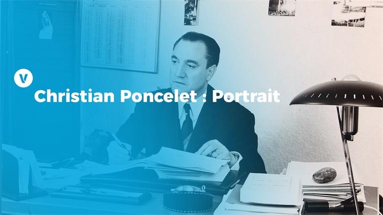 Christian Poncelet : Portrait