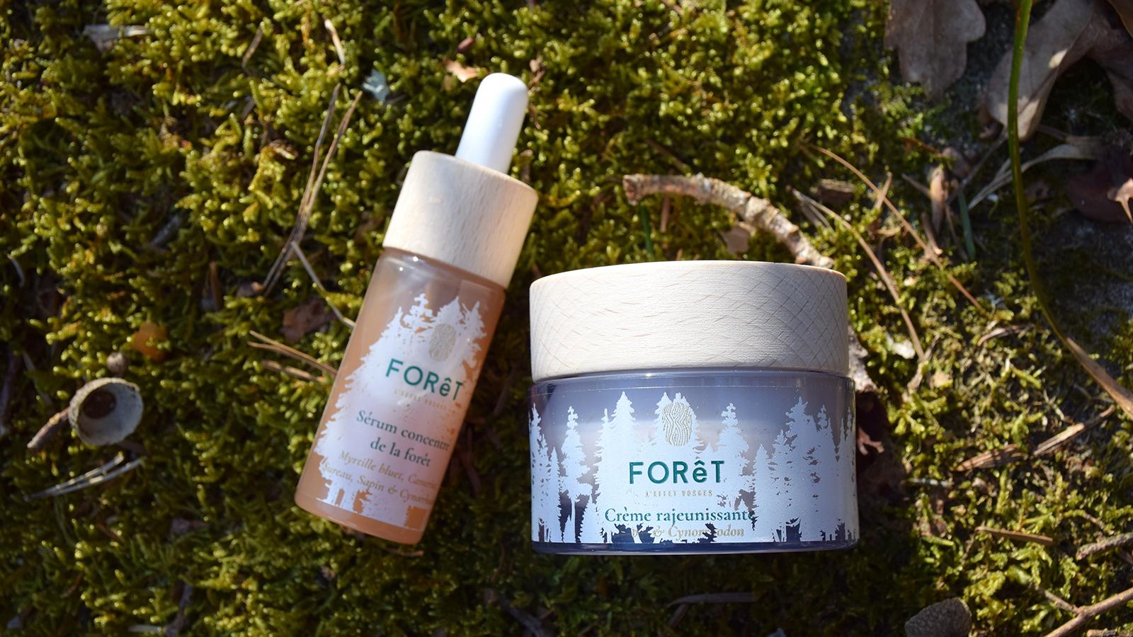 Crème rajeunissante et Sérum concentré de la forêt
