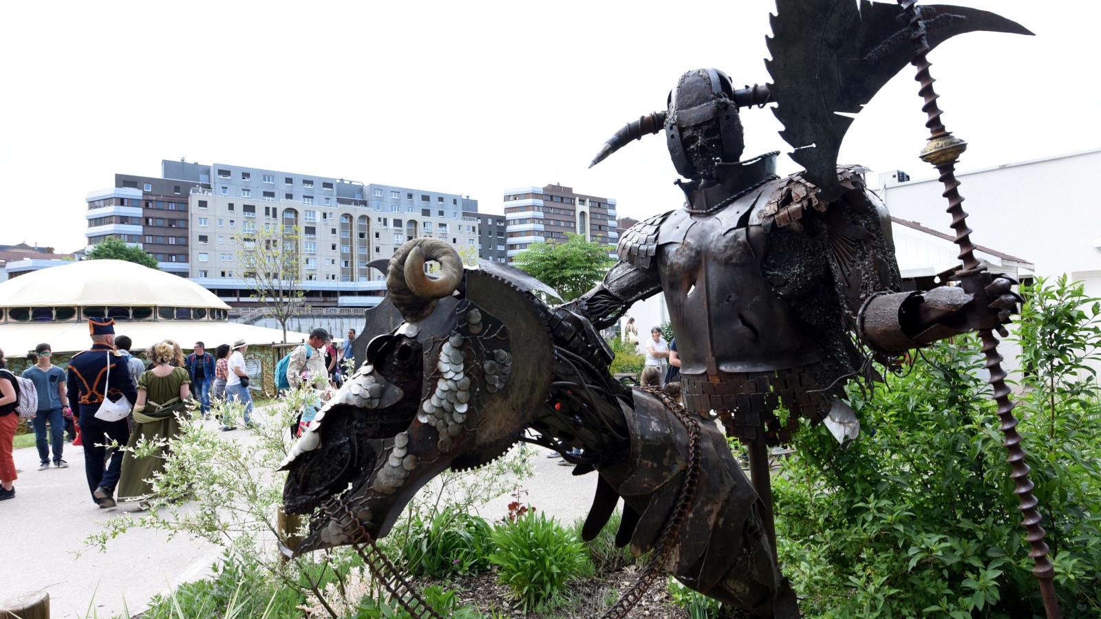 Cette année, la manifestation mettait en avant la littérature nordique.
